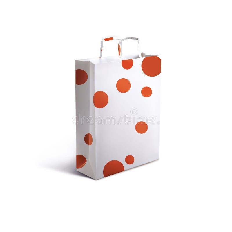 Paper bag stock image
