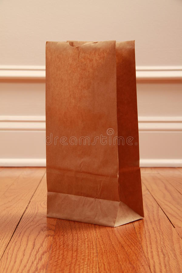 Paper bag royalty free stock photo
