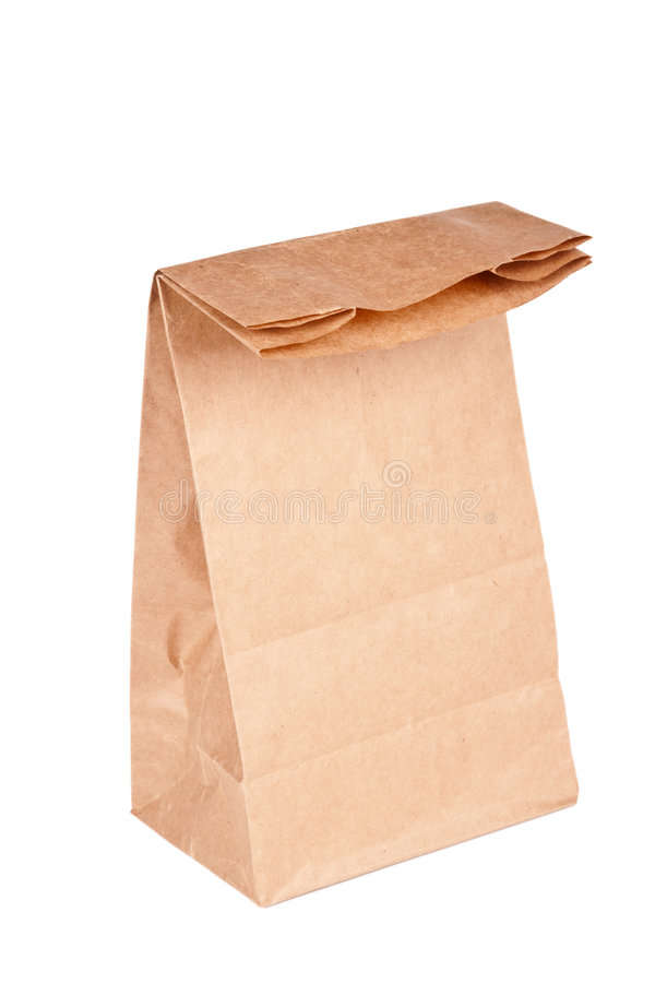 Download Paper Bag (lunch Bag) Isolated Stock Photo - Image: 7029046