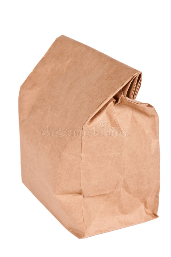 Download Paper Bag (lunch Bag) Isolated Stock Image - Image: 7813123
