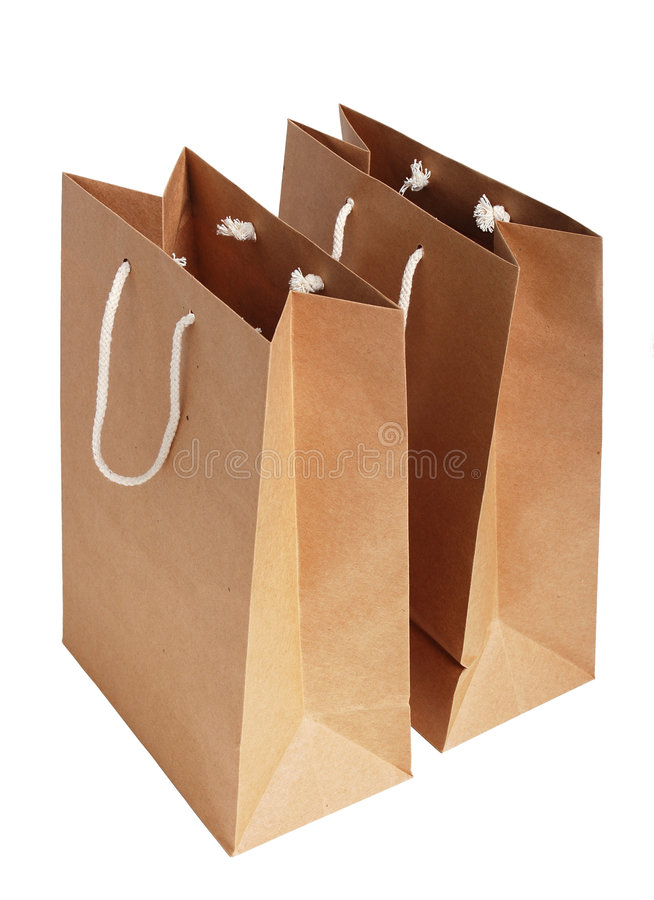 Download Paper bags stock image. Image of isolated, product, advertise - 1414157