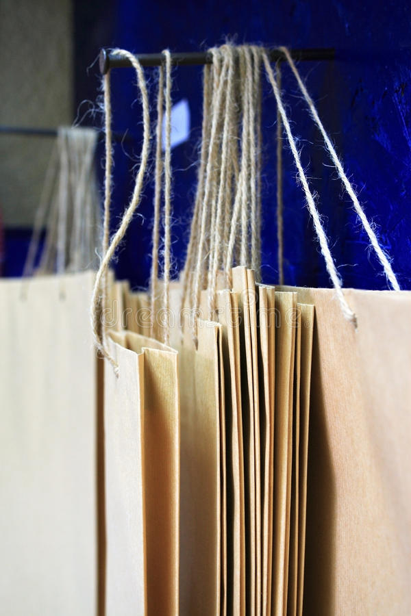 Download Paper bags stock photo. Image of packing, recycling, retail - 14855104