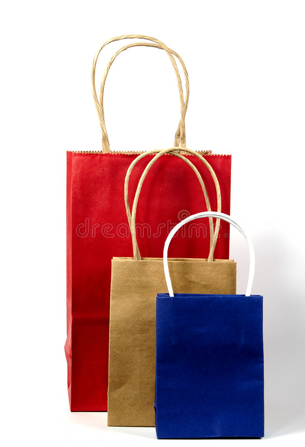 Paper Bags 2 stock image