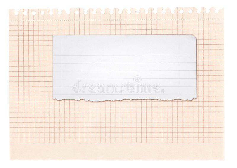 Download Paper banner stock photo. Image of part, horizontal, line - 18952762