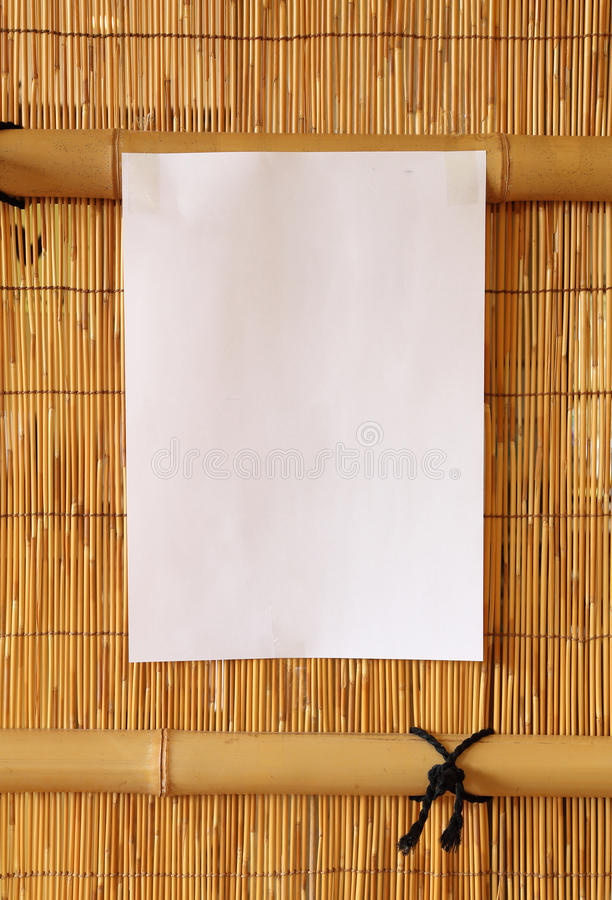 Paper blank for text stock images