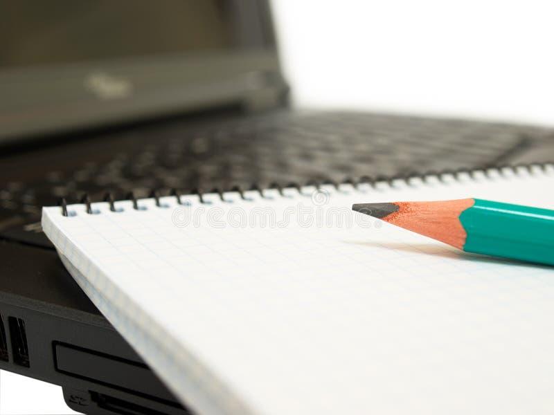 paper blyertspenna fotografering för bildbyråer