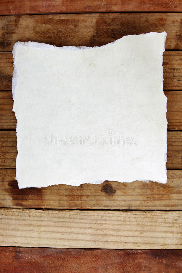 Paper On Boards Stock Photo