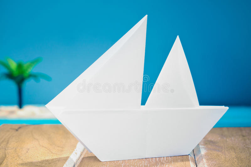Download Paper Boat stock image. Image of paper, nature, anglerfish - 24523533
