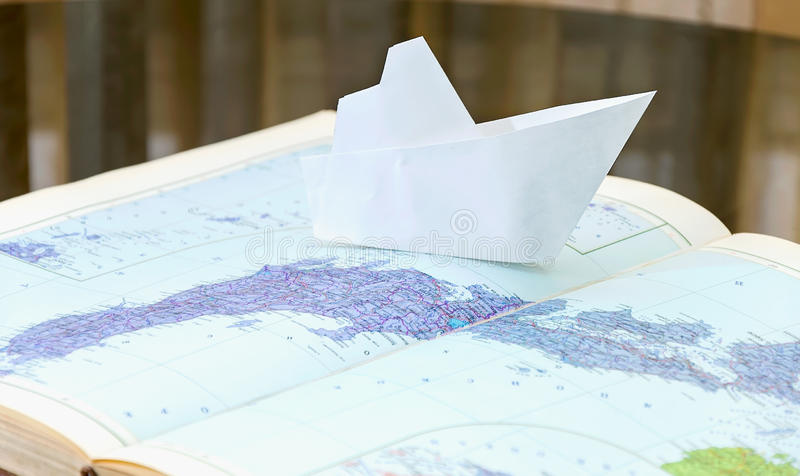 Download Paper Boat Royalty Free Stock Photo - Image: 25207115