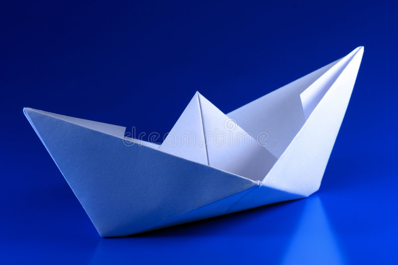 Paper Boat stock photos