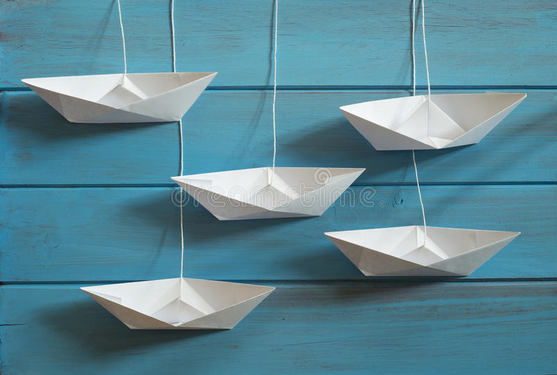 Download Paper boat stock image. Image of fancy, ship, childhood - 36630393