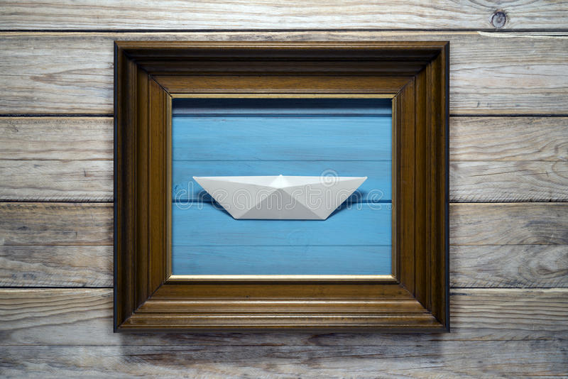 Download Paper Boat Stock Photo - Image: 40068345