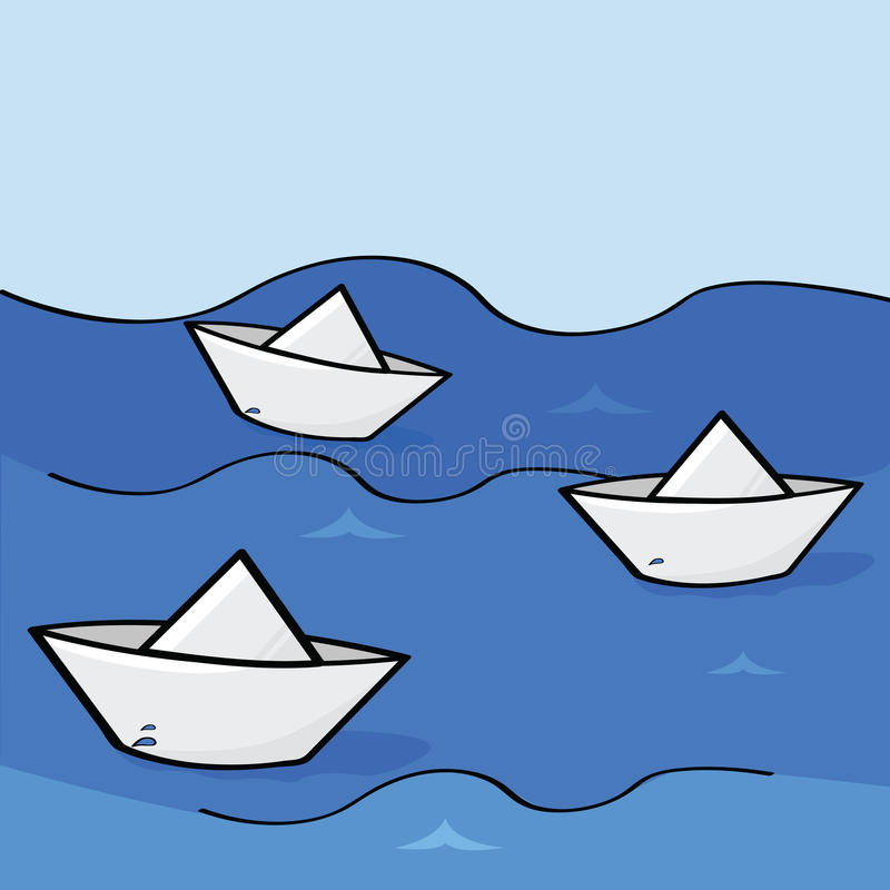 Free Paper Boats Stock Photos - 19444973
