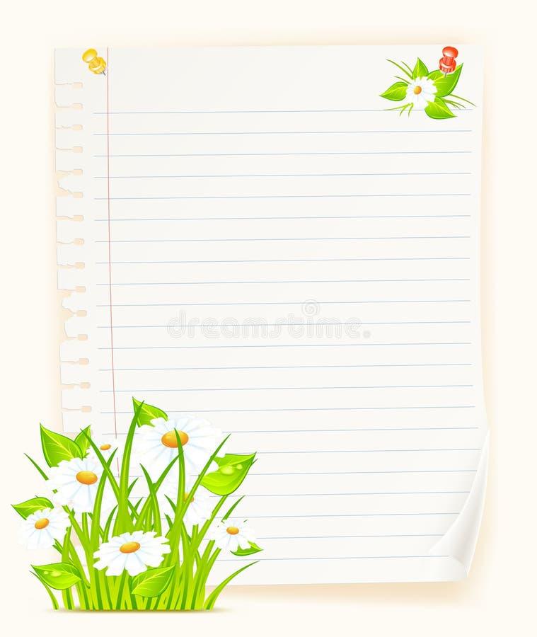 Paper & bouquet