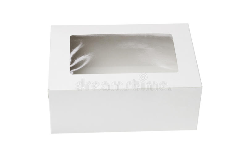 Paper Box with Transparent Top