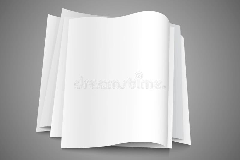 paper bunt vektor illustrationer