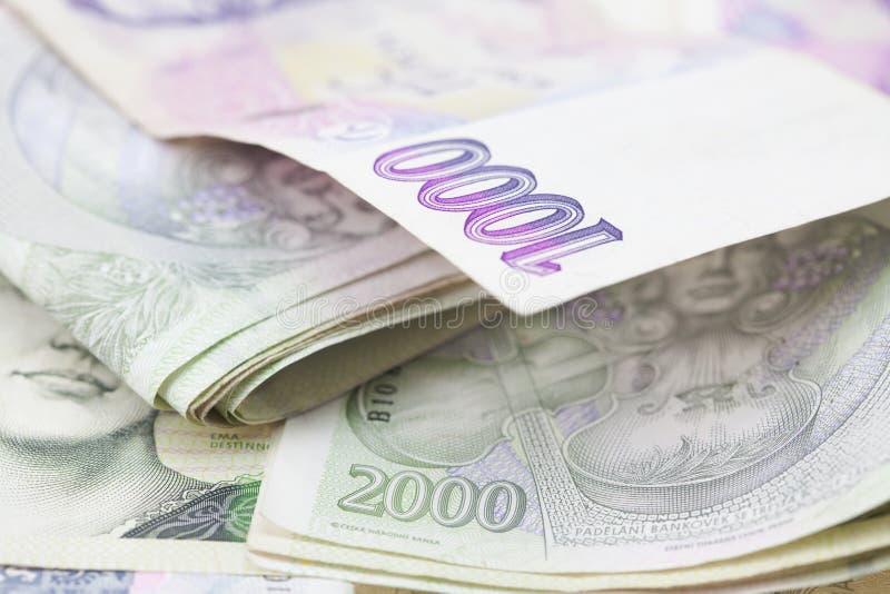 paper bunt för pengar royaltyfri fotografi