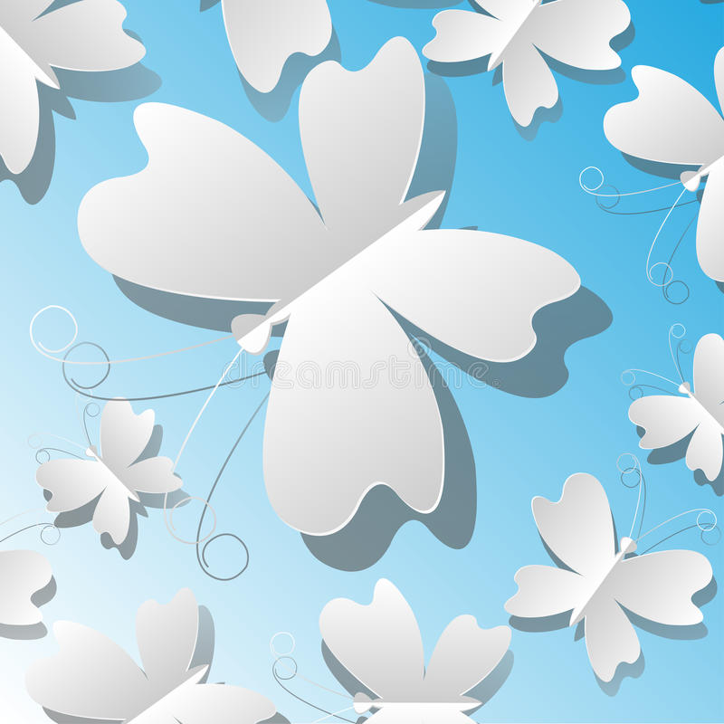 Download Paper butterflies stock vector. Illustration of light - 30897866
