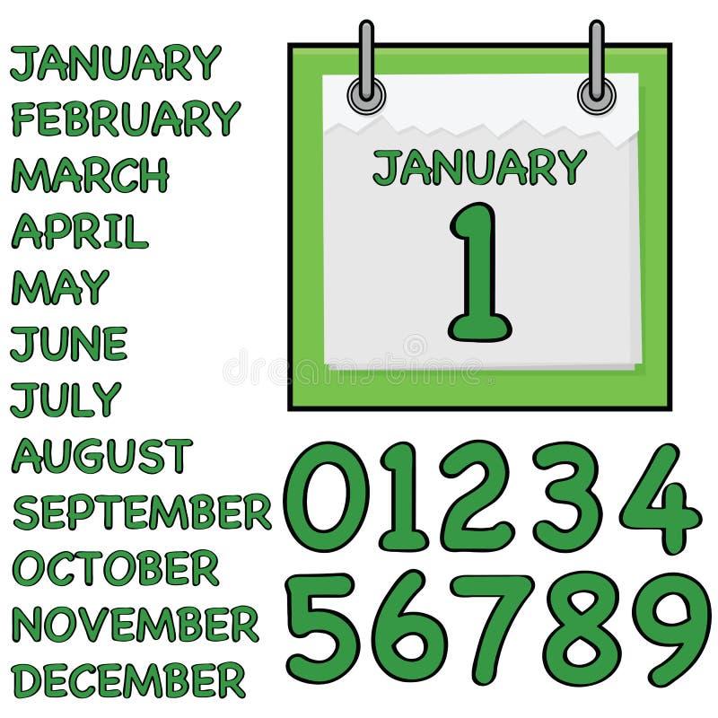 Download Paper calendar stock vector. Illustration of design, illustration - 20781618