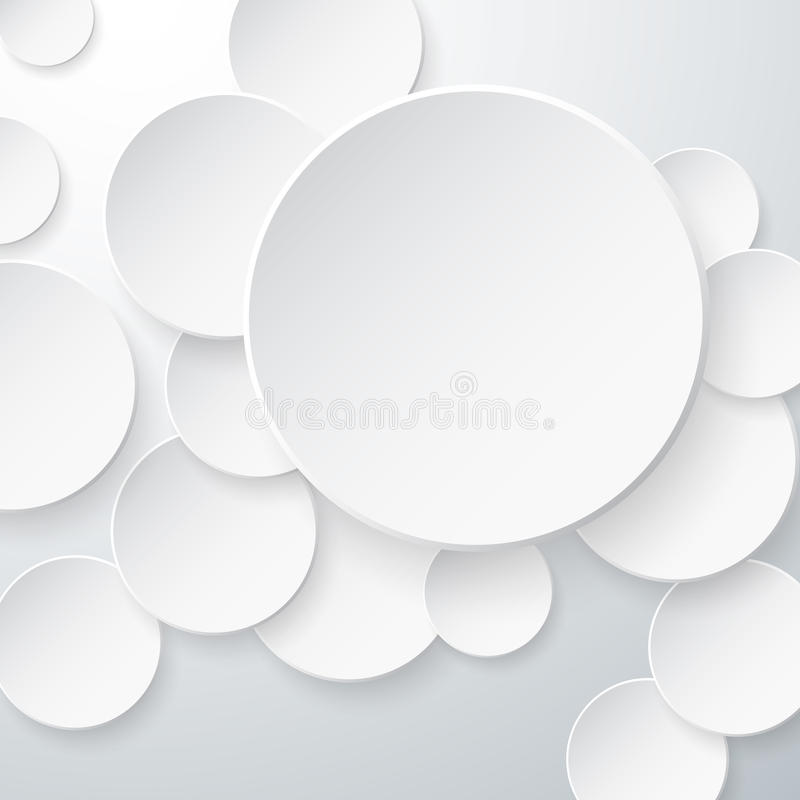 Download Paper Circles Background stock vector. Image of abstract - 31938737