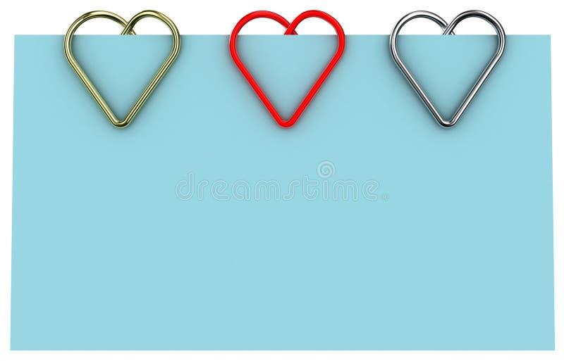 Download Paper clip stock illustration. Image of illustration - 22027287