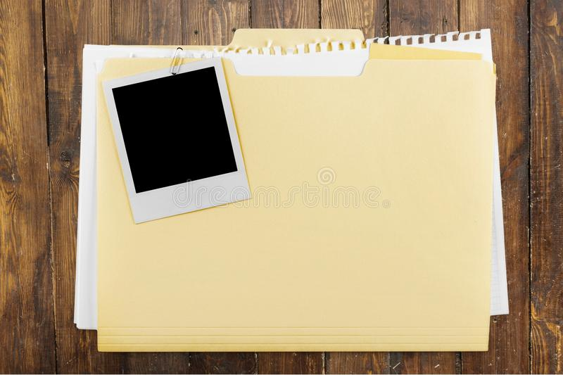 Paper Clip. File Document Paper Mystery Secrecy Manila Paper royalty free stock photos