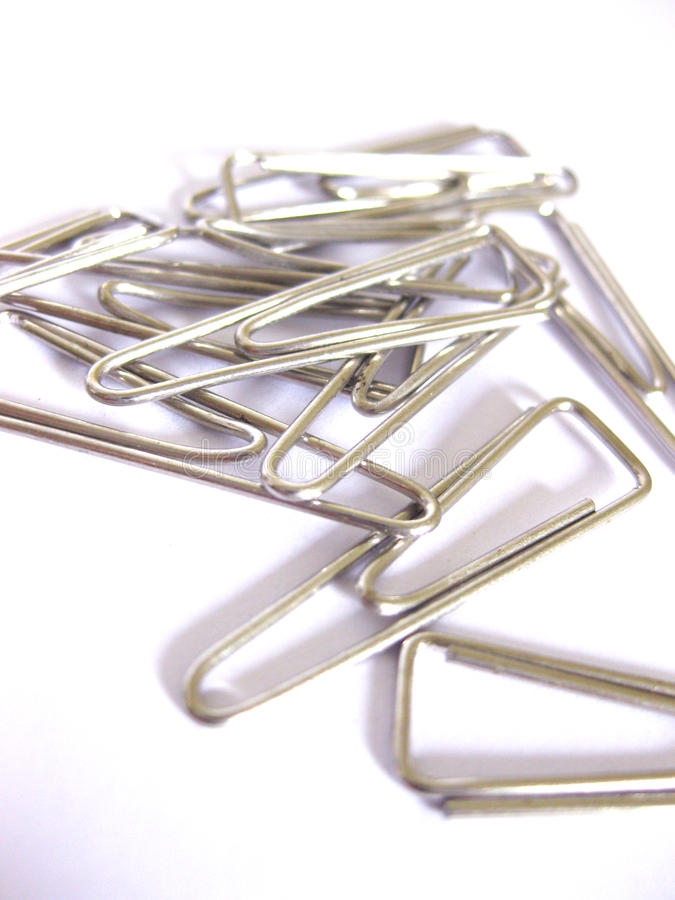 Free Paper Clips Royalty Free Stock Image - 11736496