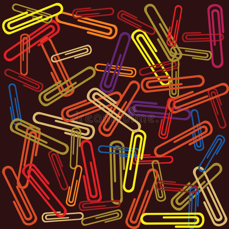 Download Paper clips stock vector. Image of object, paperwork - 12814510
