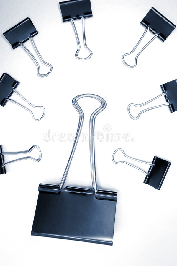 Download Paper clips in meeting stock image. Image of boss, bulldog - 2521835