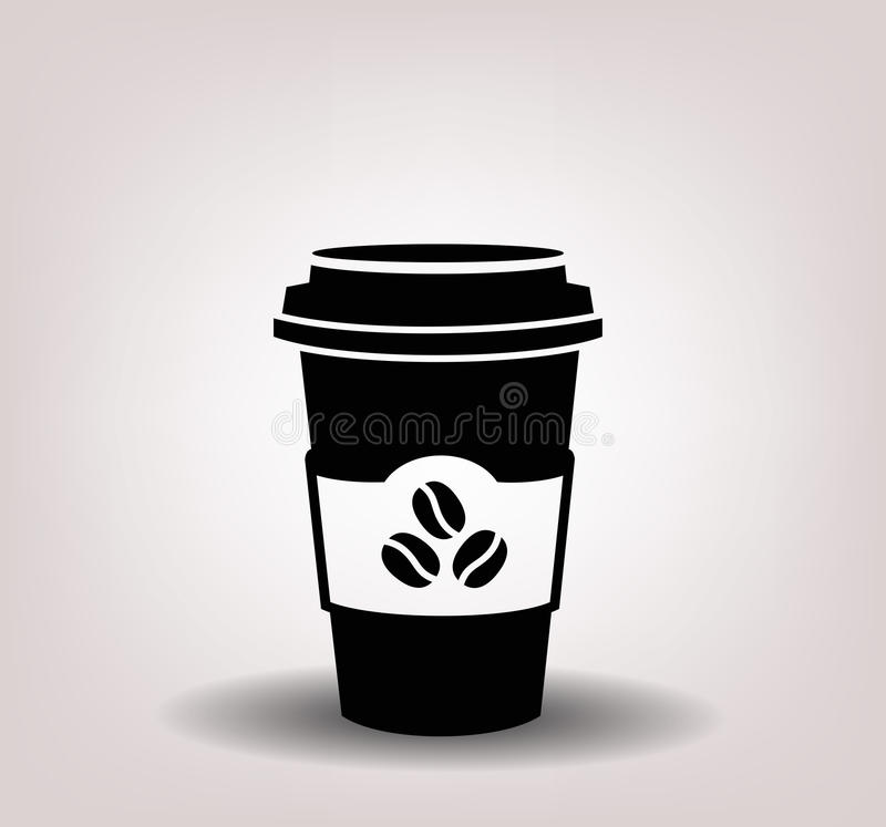 Download Paper coffee cup stock vector. Illustration of take, disposable - 37020197