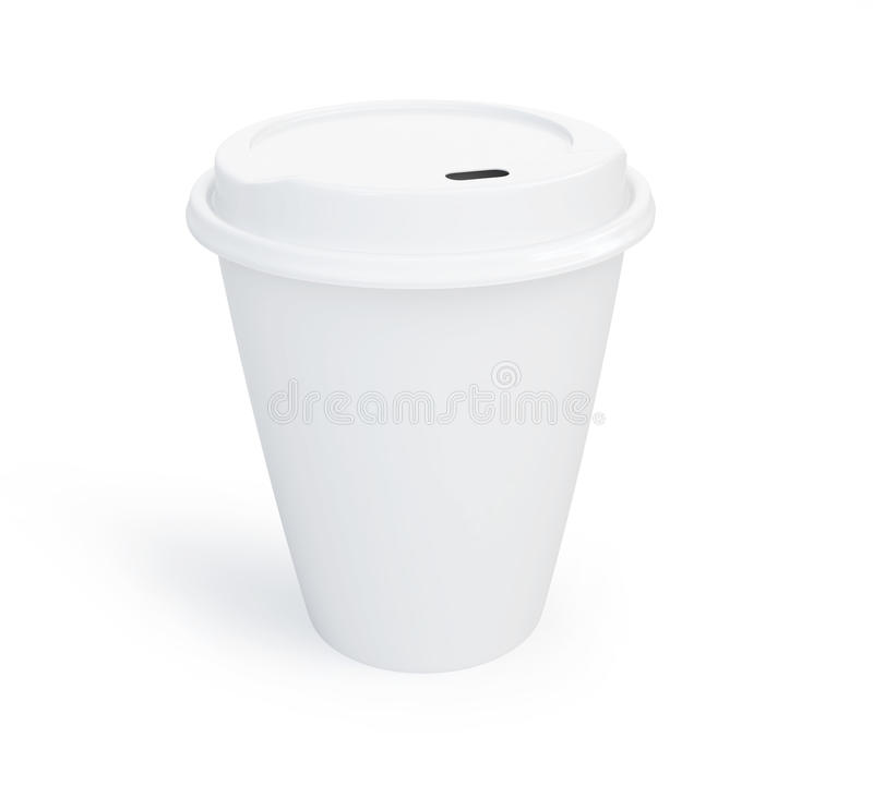 Download Paper Coffee Cup stock illustration. Image of carton - 30108280
