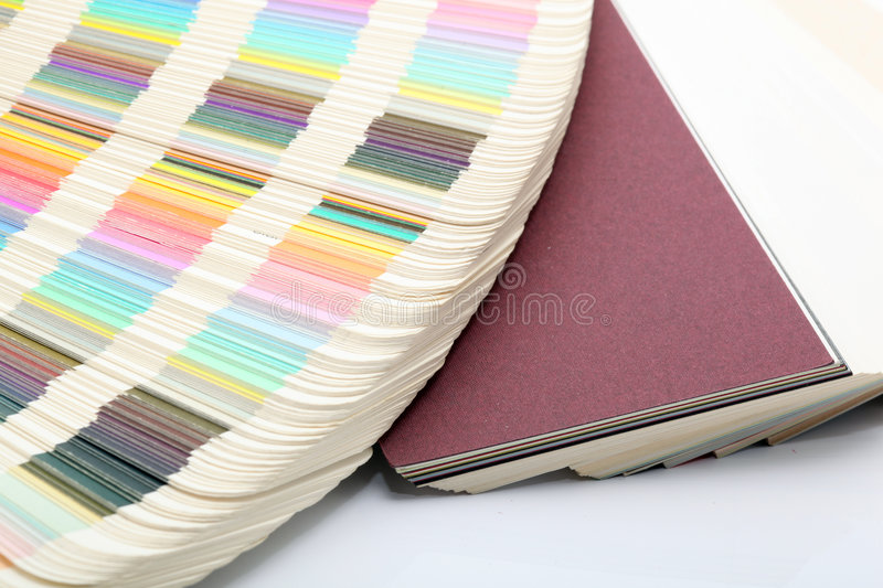Download Paper and color samples stock image. Image of white, verification - 7873037