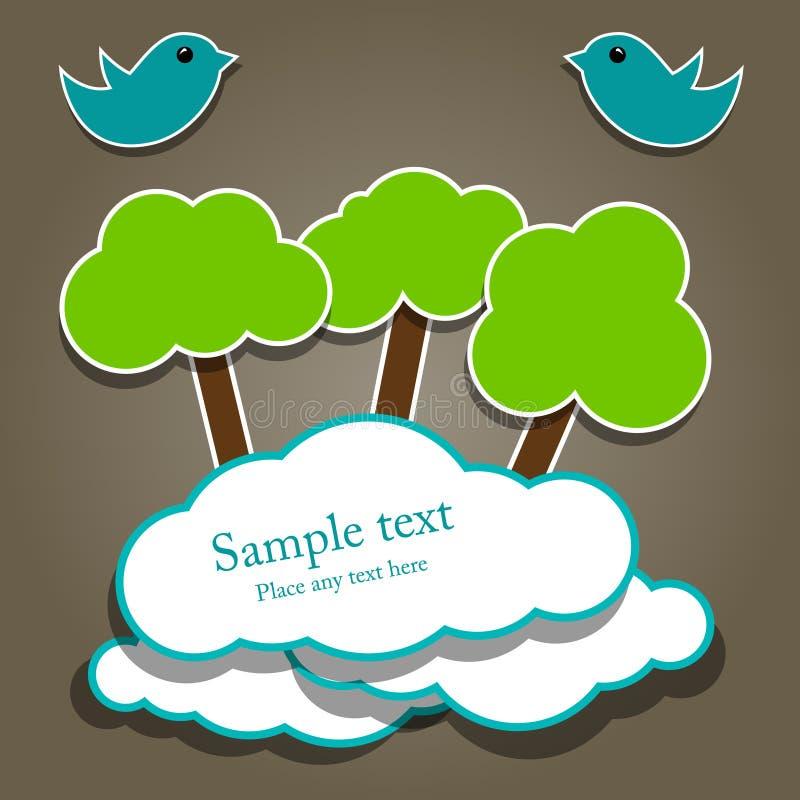 Paper composition vector illustration
