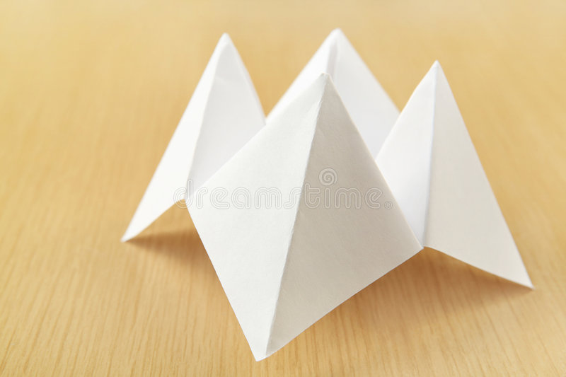Download Paper Cootie Catcher stock image. Image of unknown, origami - 7442561