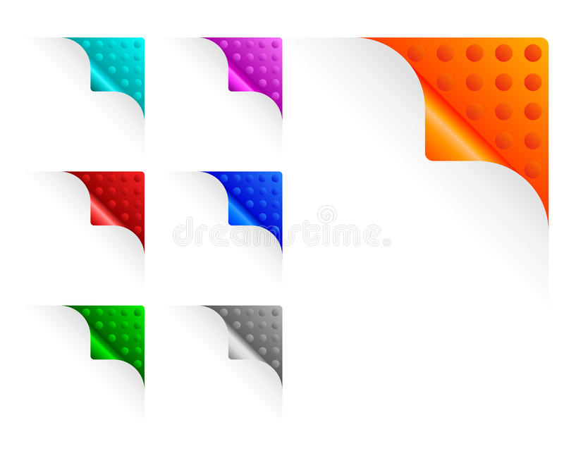 Download Paper Corners Stock Photography - Image: 23971262