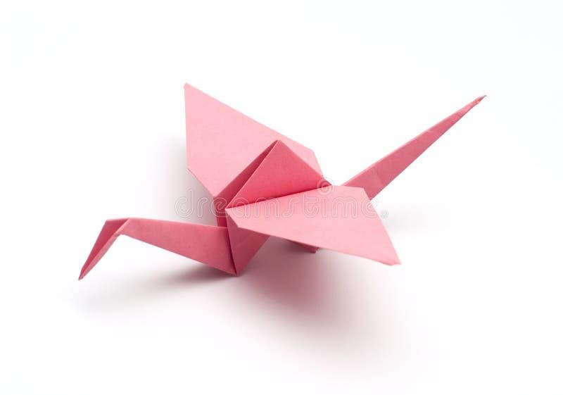 Paper crane royalty free stock image