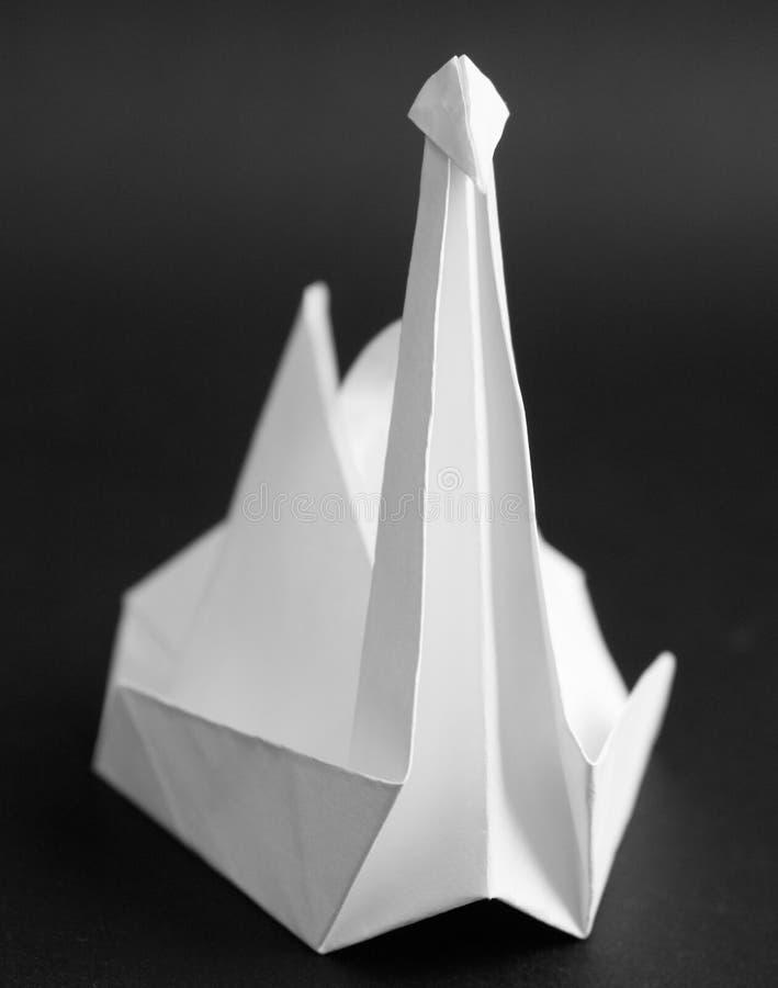 Paper crane stock photos