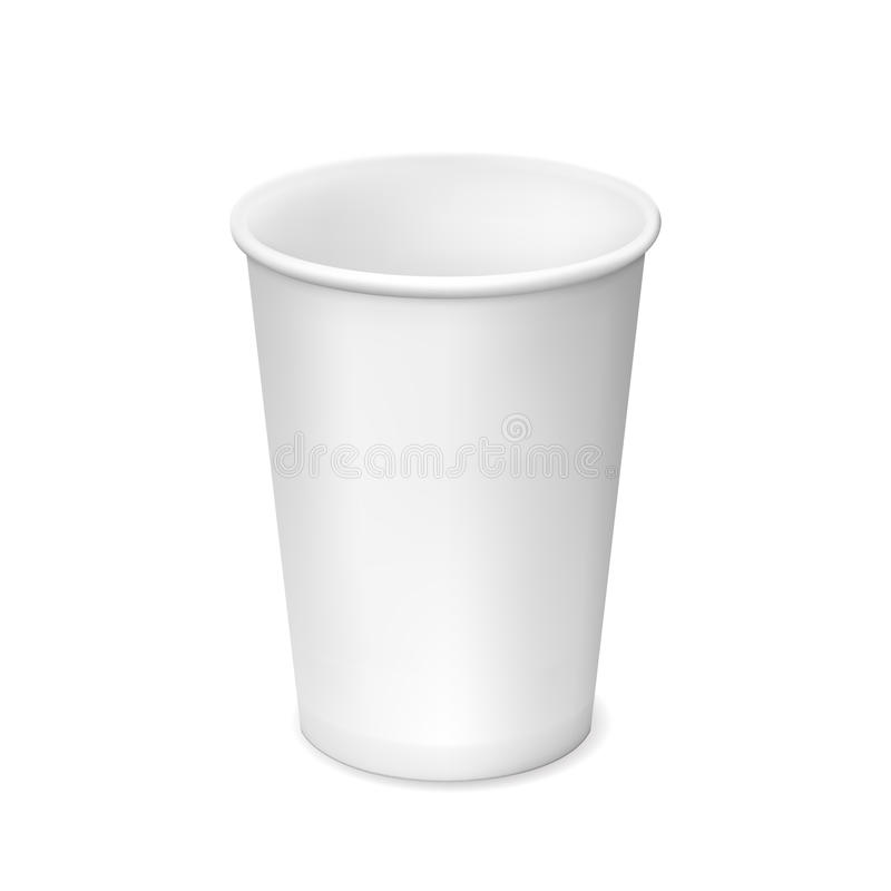 Paper Cup royalty free illustration