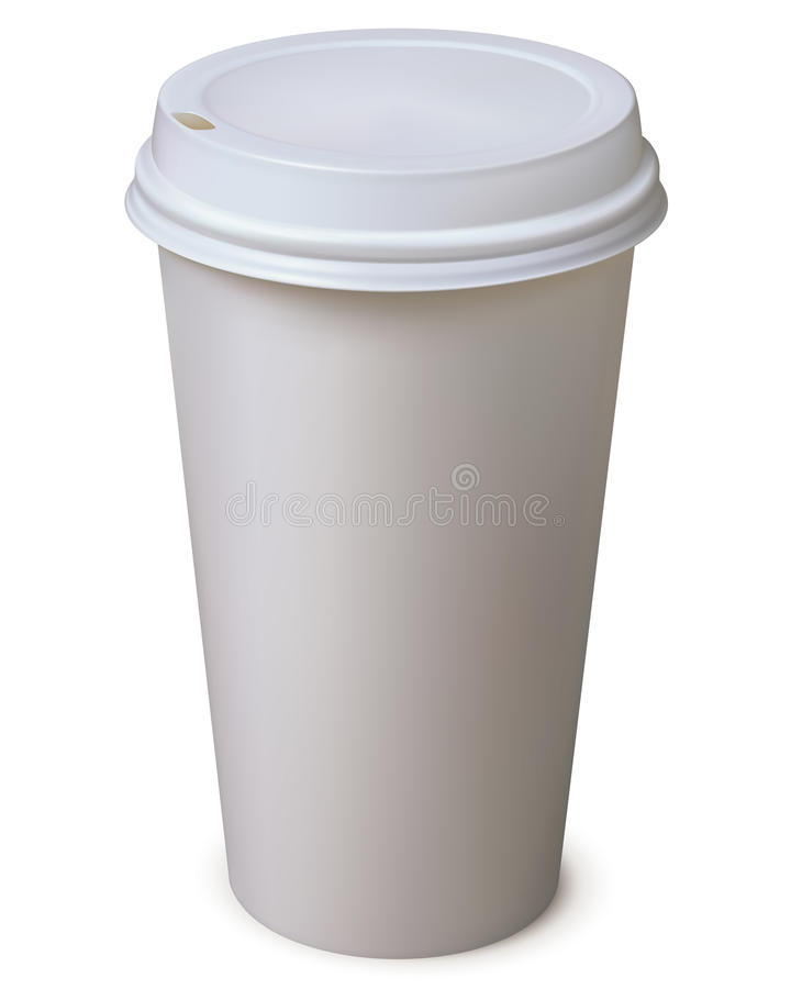 Paper Cup. Vector Illustration Stock Photo