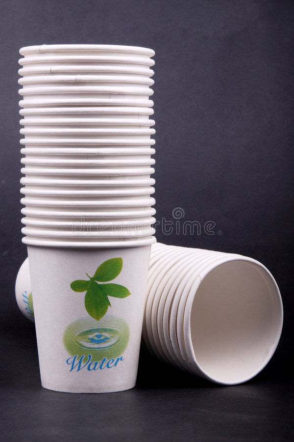Paper Cups Stock Photos
