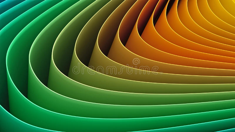 Paper curves royalty free stock image