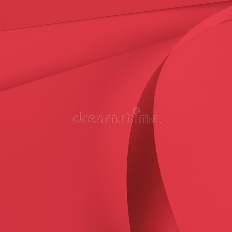 Paper cut pastel color year 2019 stock photography