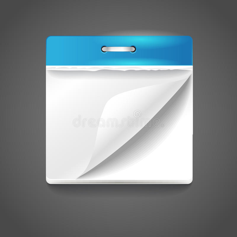 Paper Diary Royalty Free Stock Photography
