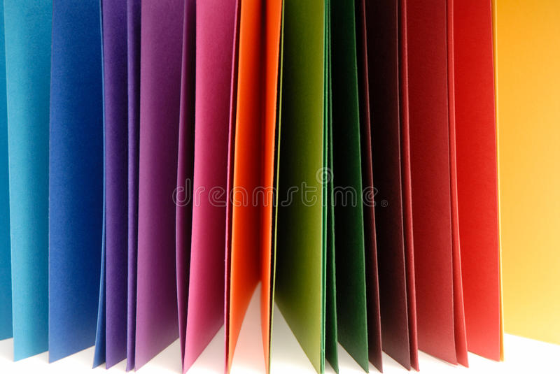 Download Paper of different colors stock image. Image of multi - 34525453