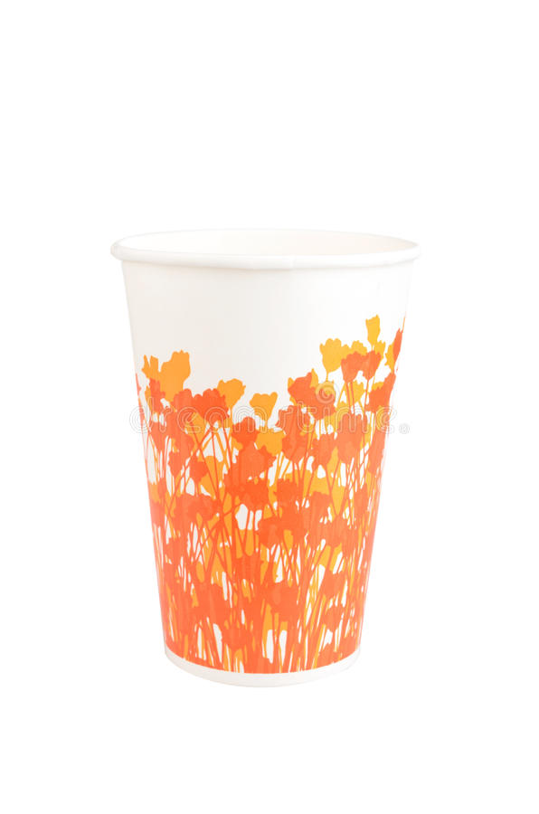 Download Paper Disposable Cup stock image. Image of porcelain - 24984329