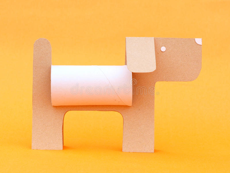 Paper Dog Royalty Free Stock Photo