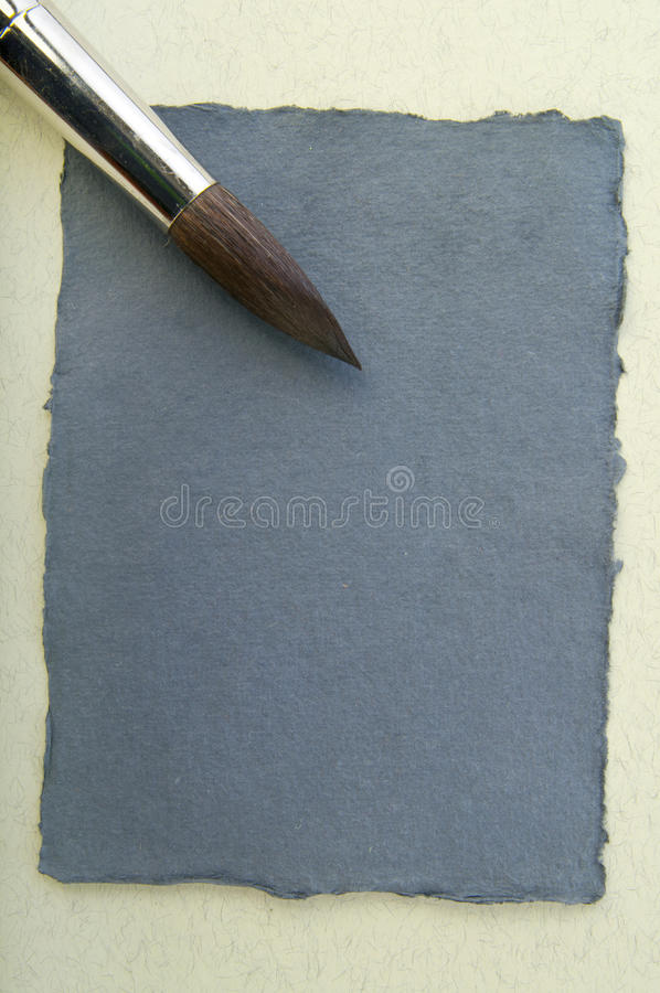 Paper elements for card or scrap-booking. Paper elements with brush for card or scrap-booking stock images