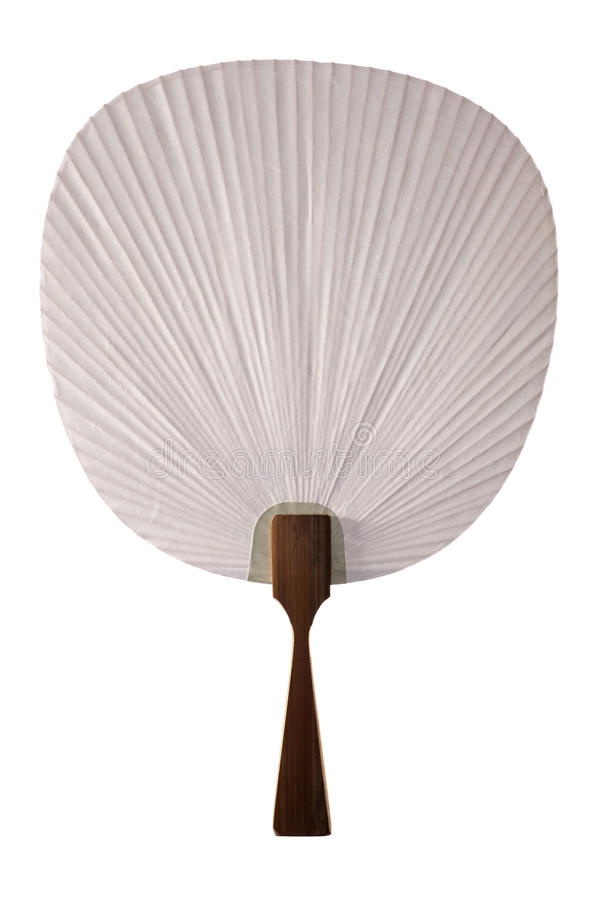 Download Paper Fan stock image. Image of plain, handmade, japanese - 19233851