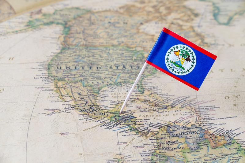 Belize flag pin on world map stock image image of honduras global download belize flag pin on world map stock image image of honduras global gumiabroncs
