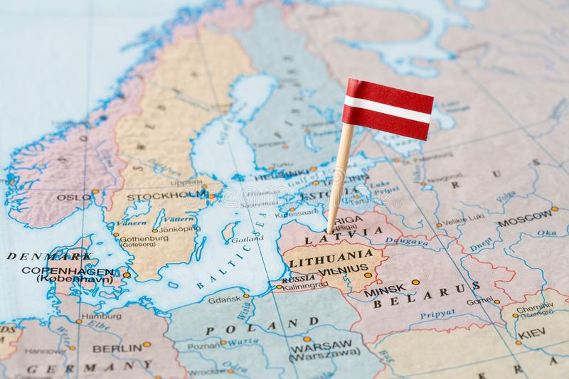 Latvia flag pin on map stock image image of capital 109254185 download latvia flag pin on map stock image image of capital 109254185 gumiabroncs Images